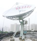 MIIT National Public Emergency Broadband VSAT Project - 4.5m Full-automatic Tracking Antenna