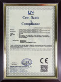 CE certificate for LED Tube