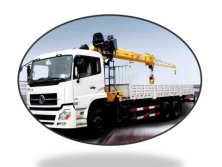 Dongfeng 10 t -15t truck with crane
