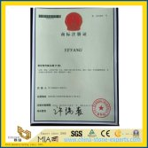 YEYANG Trademark Registration Certificate with NO 8551872 from YEYANG Stone Factory