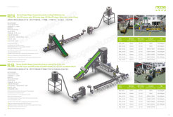 Single and double stage compacting strand cooling pelletizing line
