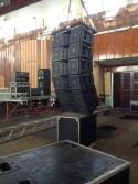 Neodymium magnet dual 12inch big power three way line array VT4888 USA display