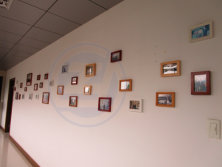 Photo wall with our customers