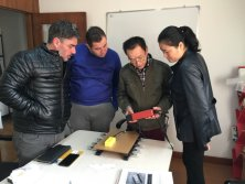 Customer from Europe to Inspect NDT Equipment