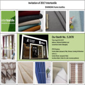 2017 Intertextile - Shanghai Textile Invitation