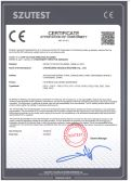High Speed Disperser CE certificate