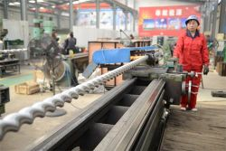 Screw pump rotor production