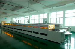 Automatic Aging line
