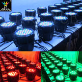Waterproof DMX RGBW 54X3w LED PAR Light with CE RoHS