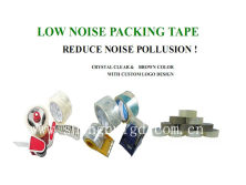 LOW NOISE PACKAGING TAPES