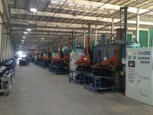 Tire vulcanizing shop