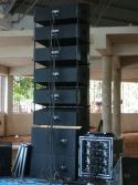 LAT212 large line array speaker for indoor events