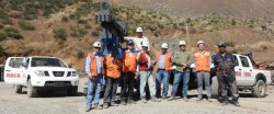 Marketing manager and Engineer Michael visited Chile for Customer′s guide assistance