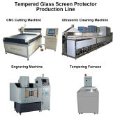 Screen protector making machines