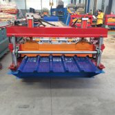 Discount metal roof panel roll forming machine