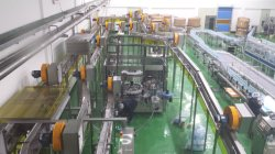 Korea bottle water filling line