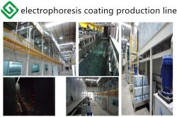 electrophoresis coating production line