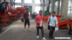 Nepal Client Visit to Check Our Organic Fertilizer Making Plant