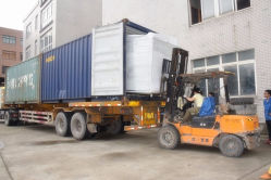 Delivery of Powder Coating Booth and Oven