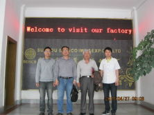Customer Visiting USA