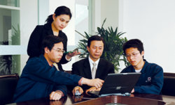 DONGFANG engineers do the technology research and development