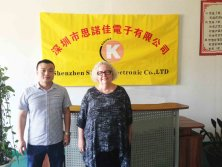Canada Client Ms. Anne Visited Our Factory