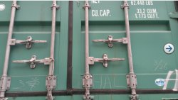 Close Container And Lock It