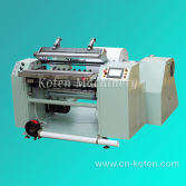 Automatic ATM Receipt Slitting and Rewinding Machine