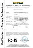 ROHS certificate of led work light
