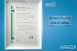 CE CERTIFICATE FOR ST-ARPM
