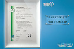 CE CERTIFICATE for ST-MBT-02