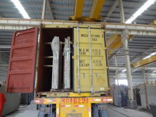 China Granite & Marble Slab Bundles Loading from Yeyang Stone Factory