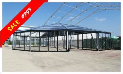 25x50m Transparent Combination Tent