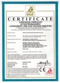 CE Certificates for submersible pump