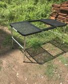 Steel net barbecue table