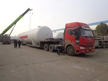 20 units ofASME 200CBM LPG Tanks to Nigeria