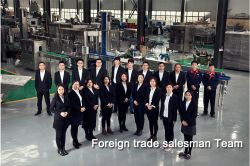 Foreign trade salesman Team