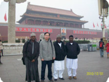 Accompany Our Customer to Visit Beijing