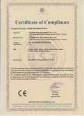LVD certificate of solar controller