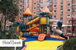 castile theme outodoor playground equipment for children