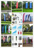 Outdoor Printing Beach flag