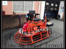 16.5kw Concrete Gasoline Ride on Power Trowel on Sale GYP-846