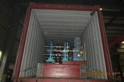 Auto CZ Purlin Machine to Qatar