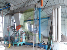 5t/h Wood Pellet Line Plant installed in Singapore