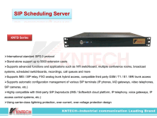 SIP Scheduling server global leader in industrial communication kntech