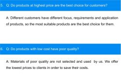 Does High Price Mean Good Product?