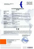 CE Certificates of PCS Series Extruder