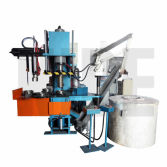 Rotor die casting machine