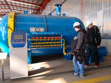 Czech Republic acceptance autoclave for composite part