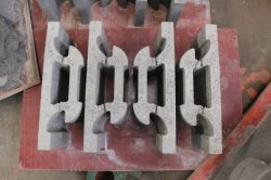 interlocking concrete brick